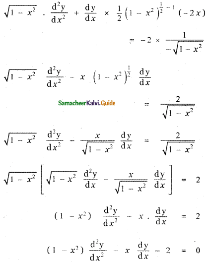 Samacheer Kalvi 11th Maths Guide Chapter 10 Differentiability and Methods of Differentiation Ex 10.4 41