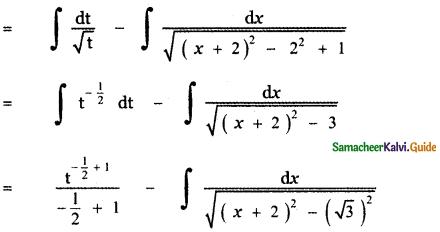 Samacheer Kalvi 11th Maths Guide Chapter 11 Integral Calculus Ex 11.11 15