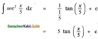 Samacheer Kalvi 11th Maths Guide Chapter 11 Integral Calculus Ex 11.2 6