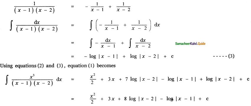 Samacheer Kalvi 11th Maths Guide Chapter 11 Integral Calculus Ex 11.5 46