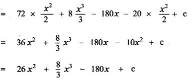 Samacheer Kalvi 11th Maths Guide Chapter 11 Integral Calculus Ex 11.5 6