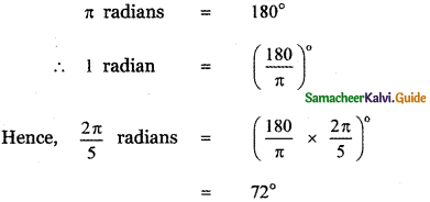 Samacheer Kalvi 11th Maths Guide Chapter 3 Trigonometry Ex 3.2 10