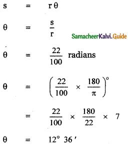 Samacheer Kalvi 11th Maths Guide Chapter 3 Trigonometry Ex 3.2 16