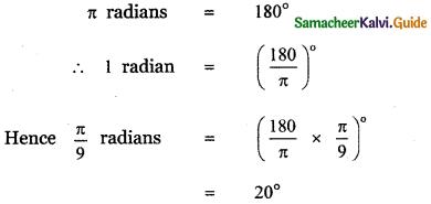 Samacheer Kalvi 11th Maths Guide Chapter 3 Trigonometry Ex 3.2 9