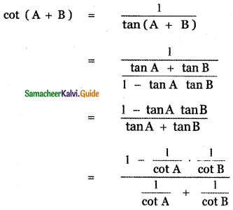 Samacheer Kalvi 11th Maths Guide Chapter 3 Trigonometry Ex 3.4 37