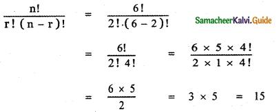 Samacheer Kalvi 11th Maths Guide Chapter 4 Combinatorics and Mathematical Induction Ex 4.1 23