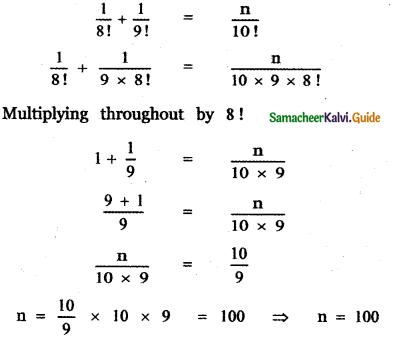 Samacheer Kalvi 11th Maths Guide Chapter 4 Combinatorics and Mathematical Induction Ex 4.1 27
