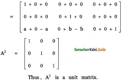 Samacheer Kalvi 11th Maths Guide Chapter 7 Matrices and Determinants Ex 7.1 21