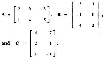 Samacheer Kalvi 11th Maths Guide Chapter 7 Matrices and Determinants Ex 7.1 31