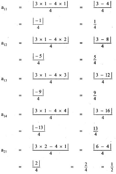 Samacheer Kalvi 11th Maths Guide Chapter 7 Matrices and Determinants Ex 7.1 4