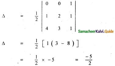 Samacheer Kalvi 11th Maths Guide Chapter 7 Matrices and Determinants Ex 7.4 2