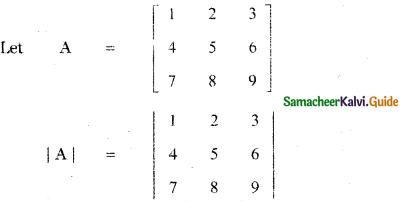 Samacheer Kalvi 11th Maths Guide Chapter 7 Matrices and Determinants Ex 7.4 5