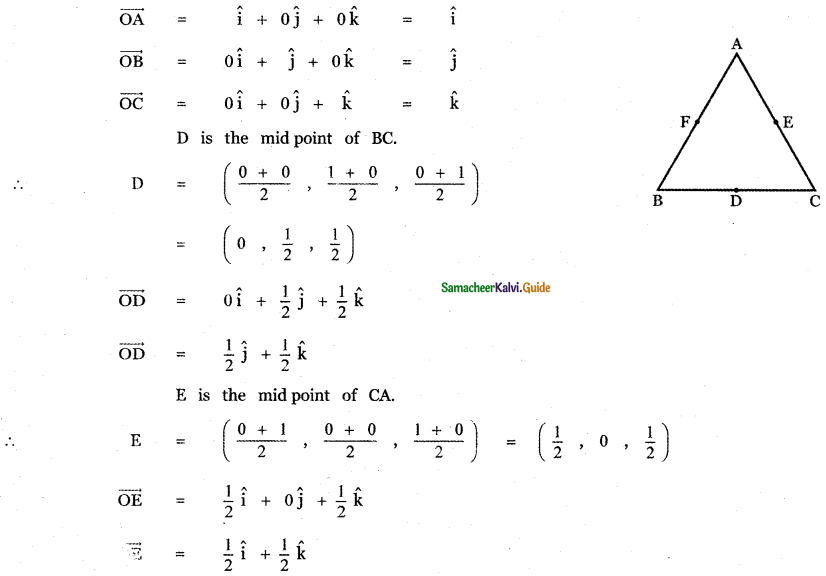 Samacheer Kalvi 11th Maths Guide Chapter 8 Vector Algebra - I Ex 8.2 17
