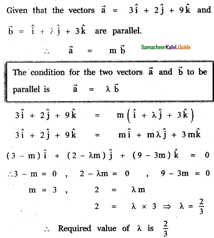 Samacheer Kalvi 11th Maths Guide Chapter 8 Vector Algebra - I Ex 8.2 25