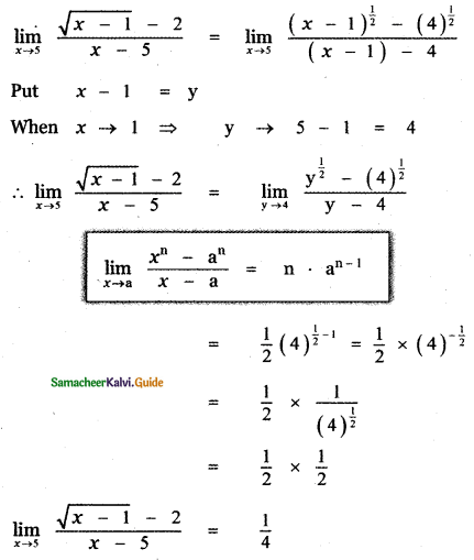 Samacheer Kalvi 11th Maths Guide Chapter 9 Limits and Continuity Ex 9.2 34