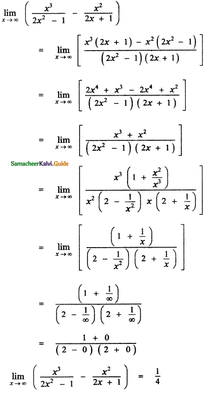 Samacheer Kalvi 11th Maths Guide Chapter 9 Limits and Continuity Ex 9.3 17