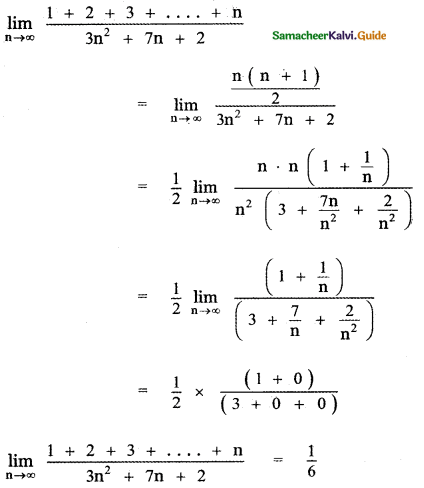 Samacheer Kalvi 11th Maths Guide Chapter 9 Limits and Continuity Ex 9.3 19