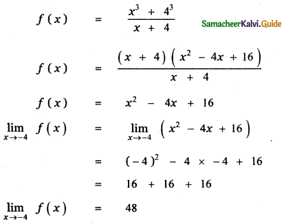 Samacheer Kalvi 11th Maths Guide Chapter 9 Limits and Continuity Ex 9.5 66