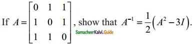Samacheer Kalvi 12th Maths Guide Chapter 1 Applications of Matrices and Determinants Ex 1.1 39