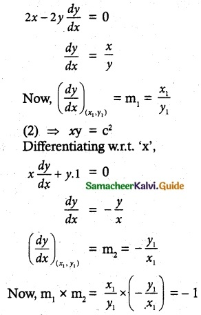Samacheer Kalvi 12th Maths Guide Chapter 7 Applications of Differential Calculus Ex 7.2 7