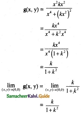 Samacheer Kalvi 12th Maths Guide Chapter 8 Differentials and Partial Derivatives Ex 8.3-4