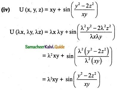 Samacheer Kalvi 12th Maths Guide Chapter 8 Differentials and Partial Derivatives Ex 8.7 3