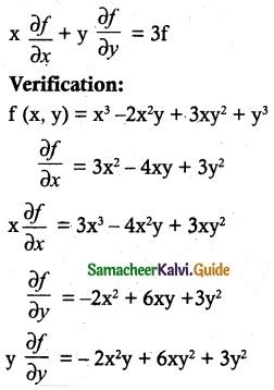 Samacheer Kalvi 12th Maths Guide Chapter 8 Differentials and Partial Derivatives Ex 8.7 4