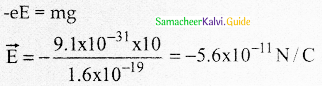 Samacheer Kalvi 12th Physics Guide Chapter 1 Electrostatics 123