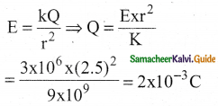 Samacheer Kalvi 12th Physics Guide Chapter 1 Electrostatics 124