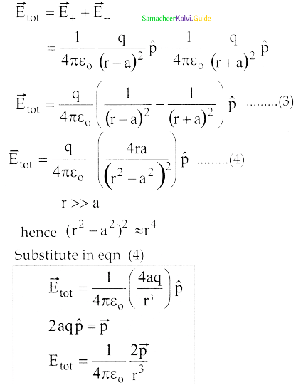 Samacheer Kalvi 12th Physics Guide Chapter 1 Electrostatics 20
