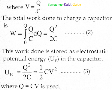 Samacheer Kalvi 12th Physics Guide Chapter 1 Electrostatics 54