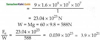 Samacheer Kalvi 12th Physics Guide Chapter 1 Electrostatics 64