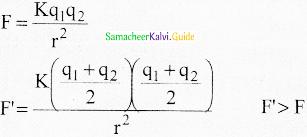 Samacheer Kalvi 12th Physics Guide Chapter 1 Electrostatics 7