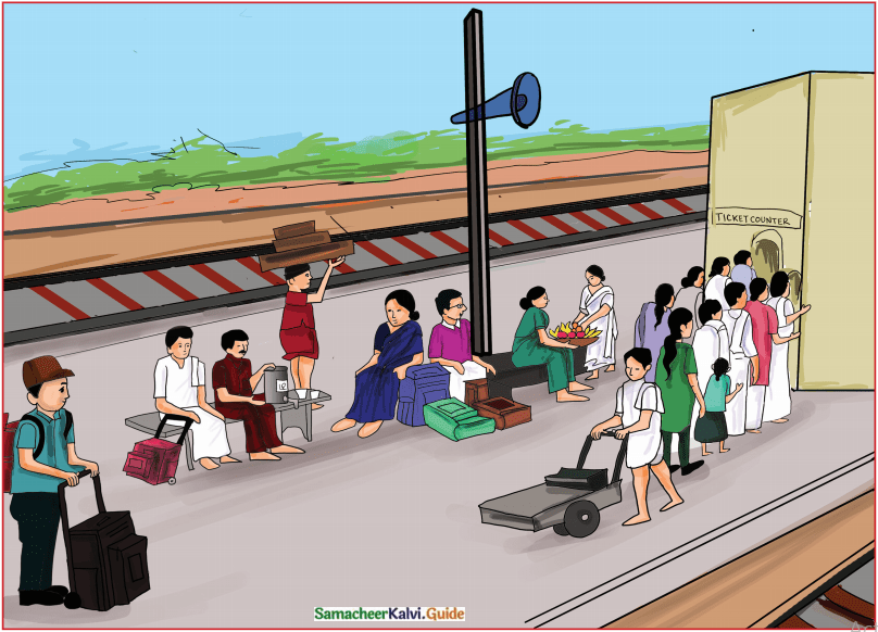 Samacheer Kalvi 7th English Guide Term 3 Prose Chapter 1 Journey by Train 20
