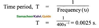 Samacheer Kalvi 9th Science Guide Chapter 8 Sound 9