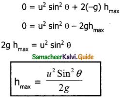 Samacheer Kalvi 11th Physics Guide Chapter 2 Kinematics 33