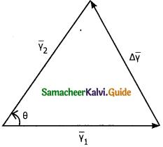 Samacheer Kalvi 11th Physics Guide Chapter 2 Kinematics 36