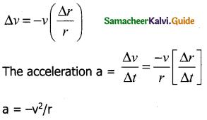 Samacheer Kalvi 11th Physics Guide Chapter 2 Kinematics 38