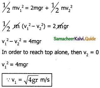 Samacheer Kalvi 11th Physics Guide Chapter 4 Work, Energy and Power 22