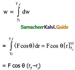 Samacheer Kalvi 11th Physics Guide Chapter 4 Work, Energy and Power 6