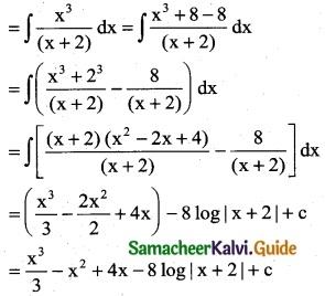 Samacheer Kalvi 12th Business Maths Guide Chapter 2 Integral Calculus I Ex 2.2 3