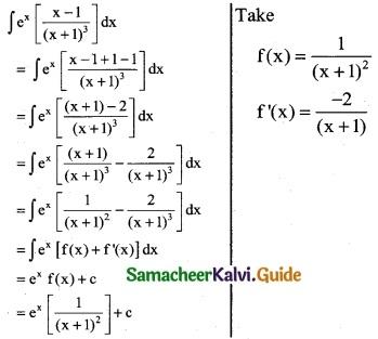 Samacheer Kalvi 12th Business Maths Guide Chapter 2 Integral Calculus I Ex 2.6 11