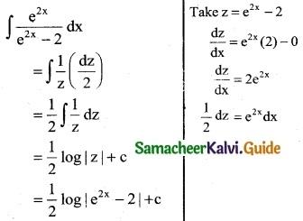 Samacheer Kalvi 12th Business Maths Guide Chapter 2 Integral Calculus I Ex 2.6 2