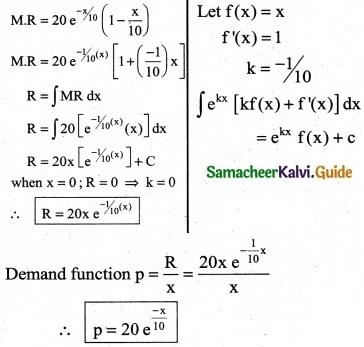 Samacheer Kalvi 12th Business Maths Guide Chapter 3 Integral Calculus II Ex 3.2 12