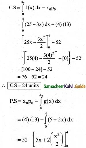 Samacheer Kalvi 12th Business Maths Guide Chapter 3 Integral Calculus II Ex 3.3 11