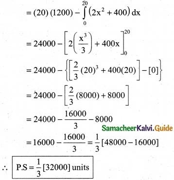 Samacheer Kalvi 12th Business Maths Guide Chapter 3 Integral Calculus II Ex 3.3 6