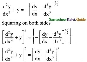 Samacheer Kalvi 12th Business Maths Guide Chapter 4 Differential Equations Ex 4.1 1