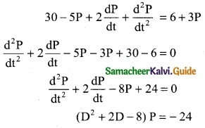 Samacheer Kalvi 12th Business Maths Guide Chapter 4 Differential Equations Miscellaneous Problems 1