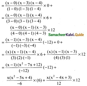 Samacheer Kalvi 12th Business Maths Guide Chapter 5 Numerical Methods Miscellaneous Problems 18