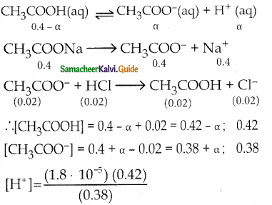 Samacheer Kalvi 12th Chemistry Guide Chapter 8 Ionic Equilibrium 40